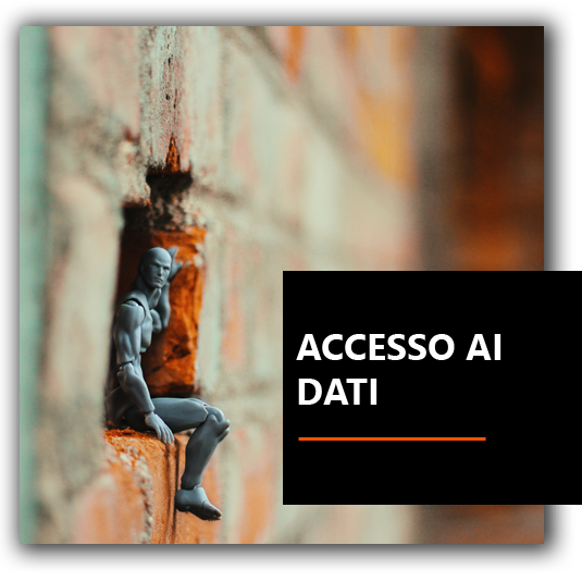 Accesso ai dati - Francesco BrioWeb Russo Consulente Marketing | Neuromarketing | Coaching | Leadership | Venezia